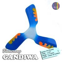 Bumerang Boomerang GANDIWA Mainan Anak Edukatif Tradisional Sport Fun