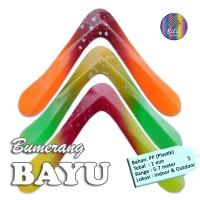 Mainan Anak Edukatif Tradisional Bumerang Boomerang Bayu
