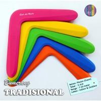 Mainan Anak Edukatif Sport Bumerang Boomerang Tradisional