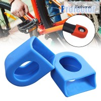1 Pair Bicycle Crank Protector Case Protective Cover Road Bike