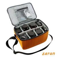 zri SLR camera bag liner Insert Padded Camera DSLR Inner Flexible