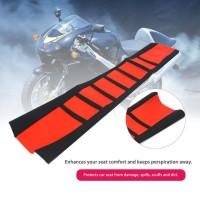 Cover Jok Motif Strip untuk Motor Off Road Universal