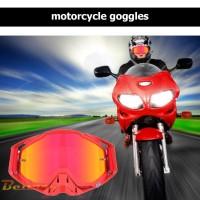 Kacamata Pelindung Off Road Anti Angin Debu UV