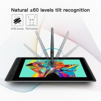 Terlaris.. HUION KAMVAS Pro 13 GT-133 Pen Tablet Monitor Digital