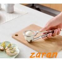zri New 304 Stainless Steel Egg Slicer Boiled Eggs Cutter Piercer