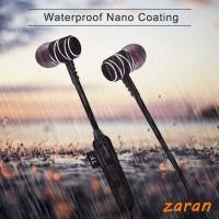 zri Magnetic Wireless Bluetooth Earphone Headset Sweatproof Setero