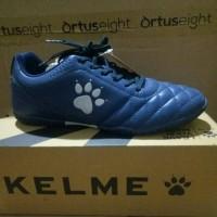 Sepatu futsal kelme power grip navy
