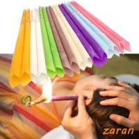 zri Lilin Ear Candle Beeswax Natural untuk Terapi Pembersih Telinga