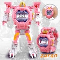 zri Mecha Robot Electronic Watch Children Sport Cartoon Watch