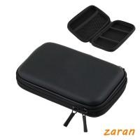 zri Shockproof Black Zipper Protector Carry Case Pouch Bag