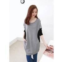 Kaos T-Shirt Lengan Panjang Bahan Katun, Ada Ukuran Besar
