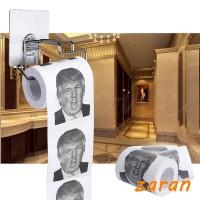 zri President Donald Trump Toilet Paper Roll Gag Gift Prank Joke 100g