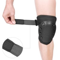 Pelindung Lutut/Sikut Bahan Plastik + Spons untuk Olahraga / Skuter