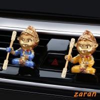 zri Sun Wukong Car Air Freshener Car Outlet Clip Perfume Zinc Alloy