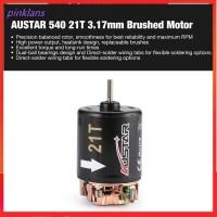 AUSTAR 540 21T 3.17mm Brushed Motor for 1/10 On-road Drift Touring