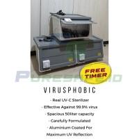 UV STERILIZER BOX /REAL UVC/ UVC BOX/STERILISASI