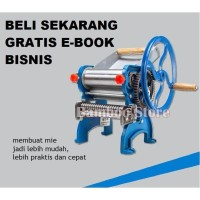 Gilingan Mie Manual / Mesin Gilingan Mie Manual / Mesin Penggiling Mie