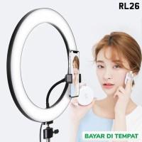 Ring Light 26cm Lampu Bundar Kamera Smartphone Ringlight tiktok Live