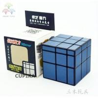 Rubik 3x3 Rubik Mirror QiYi Mirror 3x3 Silver Qi Yi Mirror NAVY
