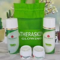 Cream Perawatan Wajah Theraskin ( Paket Glowing )