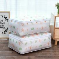 Kantong Penyimpanan Selimut Bed Cover Anti Debu Storage Bag Dust Cover - Flaminggo