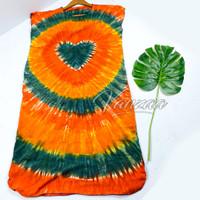 Daster Mega | Dress Vega Payung | Baju Midi Tidur | polos bali XXL 14