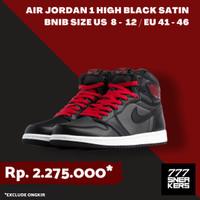 Air jordan 1 High Satin Black