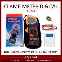 Tang Ampere Digital DT266 ~ Clamp Meter DT 266 ~ Amper ~ Multimeter