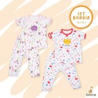 Baju bayi setelan-piyama bayi girl-blessing babywear-SZ 06-24bln