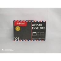 JPlus - Amplop Merah - Air Mail - 104 - 80Gsm [ 1 Pack ]
