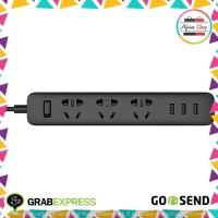 Xiaomi Mi Smart Power Strip 3 Plug dengan 3 USB Port 2A - White