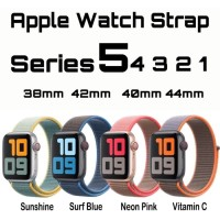 NEW Color Tali Strap Sport Loop Woven Nylon Band Apple Watch iwatch