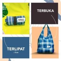 Tas Belanja Tote Bag Lipat Travel Organizer Bag TOKIO