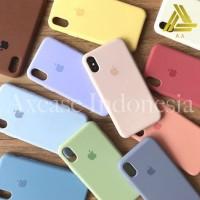 Premium Silicone Case Iphone X / XS Softcase Polos Original Full Cover