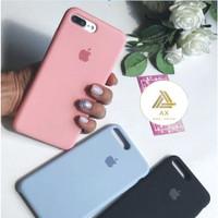 Premium Silicone Case iPhone 7 Plus / 8 Plus Softcase Polos Casing