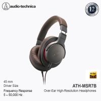 Audio Technica ATH-MSR7B Over Ear High Resolution Headphone -Gun Metal