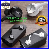 Headset Samsung Galaxy S10 AKG Handsfree Earphone Original S10 by AKG - Hitam