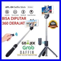 Tongsis Bluetooth 3in1 Selfie Stick Remote Bluetooth Tripod Expandable