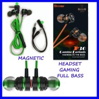 Headset Gaming Full BASS With Magnetic Earphone Gaming Handset Gaming