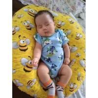 TERMURAH kursi bayi/sofa bayi/alas duduk (DENGAN TAS MIKA) 70x70x20cm