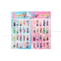 Pembatas Buku Magnet Hijabers Girl ISI 20 Bookmarks Bookmark GH 308156