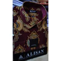 ALISAN Kemeja Batik Lengan Panjang Reguler - Big Size - 0606