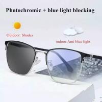 Sunglass Fotocromic Blue ray anti radiasi gadged V