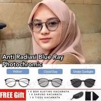 Kacamata Fotocromic Anti Radiasi Blue Ray 2257