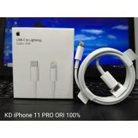 Kabel Cable Data Iphone 11 Pro Usb Type C To Lightning Original