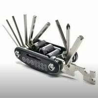 Kunci L Sepeda 16 Tools Set Kunci Multifungsi