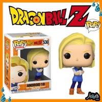 Dragon Ball Android-18 530 Funko Pop Anime FunkoPop Figure Manga Toys