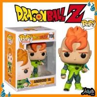 Dragon Ball Android-16 708 Funko Pop Anime FunkoPop Figure Manga Toys