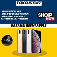 (NEW)iPhone 64GB / 64 XS MAX DUAL SIM GARANSI APPLE 1 TAHUN
