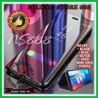 OPPO R11 HARDCASE CLEAR VIEW STANDING FLIP CASE